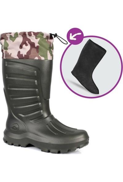 Sonimix Eva Termal Konçlu Çoraplı Çizme -30 Derece Dayanıklı
