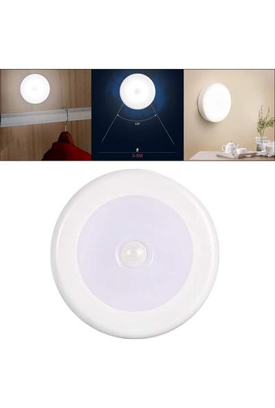 Hareket Sensörlü Pilli Mıknatıslı Spot LED Lamba Gece Lambası