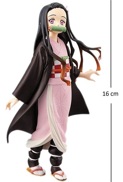 Bandai Kimetsu No Yaiba Aksiyon Figür Kutusunda 16 cm - Nezuko
