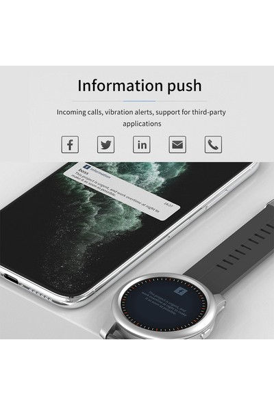 Helta F12 Akıllı Saat (47MM)(ANDROID ve iPhone Uyumlu) (Yurt Dışından)