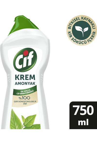 Cif Krem Yüzey Temizleyici Amonyaklı Klor Boya Fosfat Paraben İçermez 750 ML 1 Adet