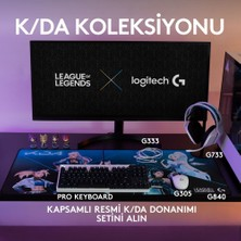 Logitech G G305 K/DA LIGHTSPEED 12.000 DPI Kablosuz Oyuncu Mouse - Beyaz