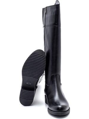 Derimod Kadın Fermuarlı Çizme