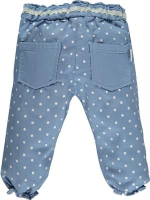 Overdo Puantiyeli Renkli Kız Bebek Pantolon