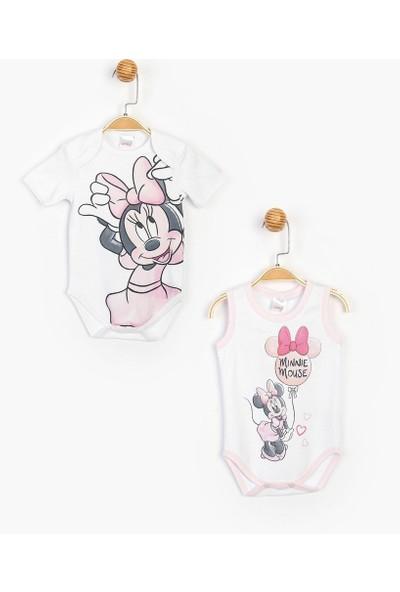 Çimpa Minnie Mouse Kısa Kol Ikili Body
