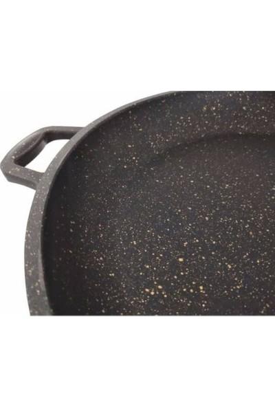 Polo Chef Iron 36 cm Döküm Granit Tava
