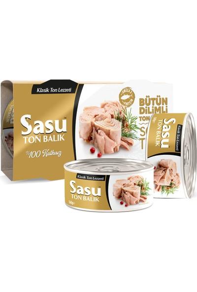 Sasu Klasik Ton Balığı 2x160 g Bütün Dilim