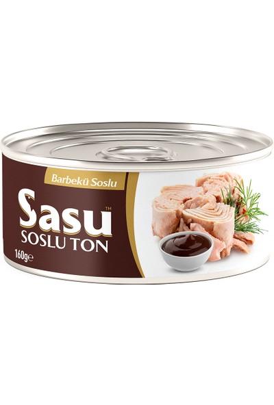 Sasu Barbekü Soslu Ton Balığı 160 g Bütün Dilim