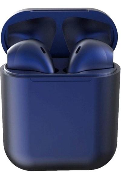 Hdr Airpods I12 Tws Mavi Apple İphoneAndroid Uyumlu Universal Bluetooth Kulaklık Hd Ses Kalitesi