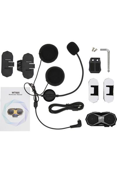 Mbw WT005 Motosiklet Bluetooth Interkom Kask Kulaklık 1000 (Yurt Dışından)