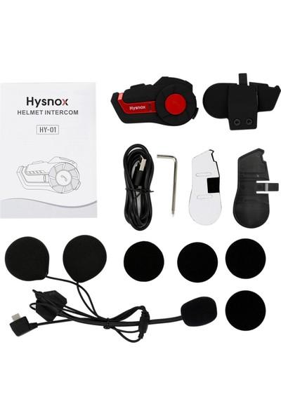 Hysnox Hy-01 Motosiklet Bt Interkom Kask Kulaklık 1000 2 Takım (Yurt Dışından)