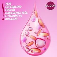 Elidor Superblend 2'si 1 Arada Şampuan ve Saç Bakım Kremi Güçlü ve Parlak Saçlar Vitamin E Macamadia Yağı Keratin 650 ML