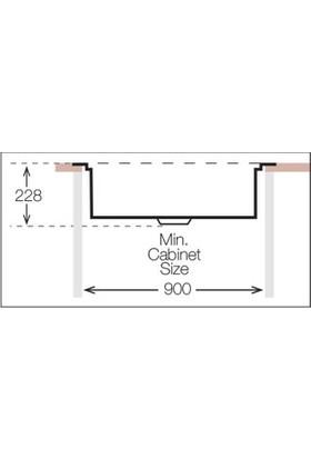 Ukinox Dsl 810 Polisajlı El Yapımı 1.2 mm Mutfak Eviyesi