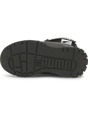Puma Nieve Boot Wtr Ac Ps - Unisex Çocuk Siyah Bot - 380745 03