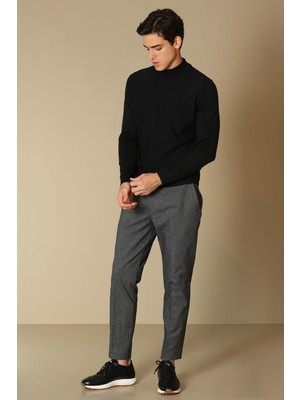 Lufian Arsen Smart Chino Pantolon Slim Fit Antrasit