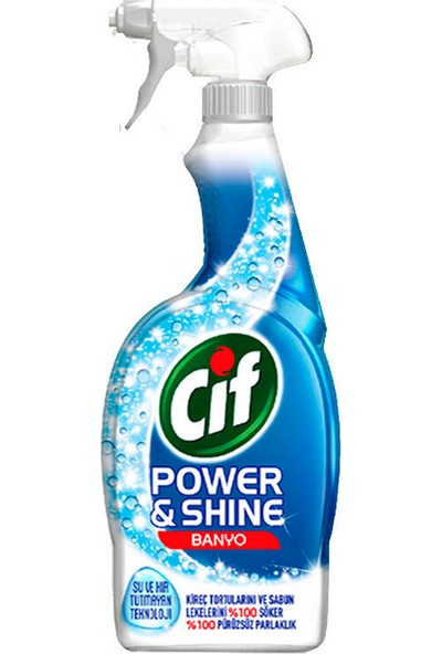 Cif Power&shine Banyo Sprey 750 ml x 12 Adet
