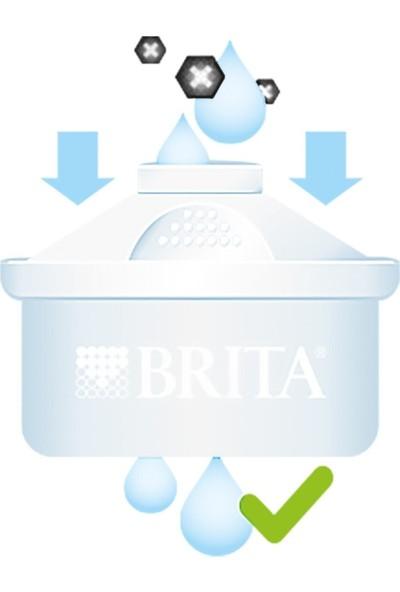 Brita Maxtra + Plus Onikili Su Arıtma Sürahi Filtresi-Brita