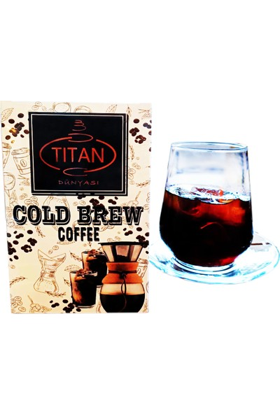 Titan Cold Brew Coffee Bag 150 gr