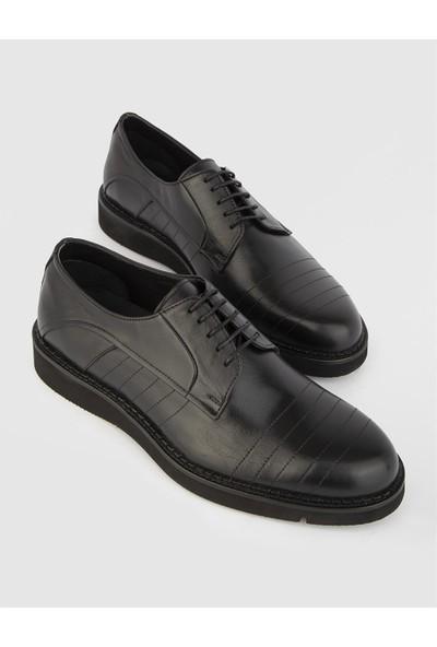 İLVİ Javier Erkek Siyah Günlük Ayakkabı