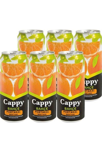 Cappy Portakal Nektarı Teneke Kutu 6 x 330 ml