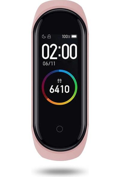 Polosmart PSSW09 Smartstep Akıllı Bileklik 2'li Set Siyah-Pembe