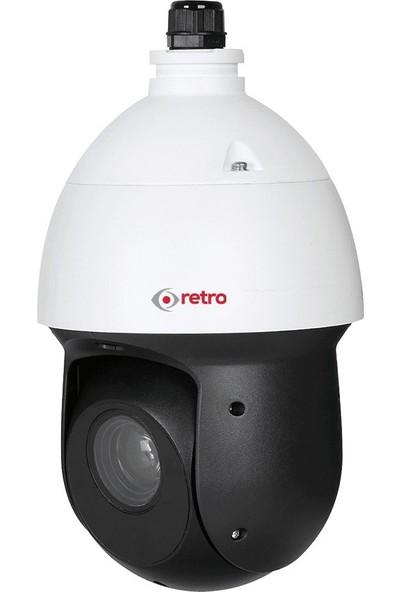 Retro RD-49225 2 Mp 25X Starlight Ir Ptz Hdcvi Speed Dome Mobese Kamera