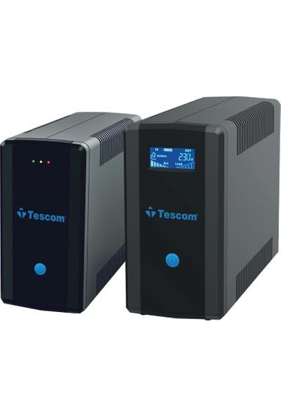Tescom Leo+ 1500VA LCD, USB, RJ45 Modem Protect Güç Kaynağı