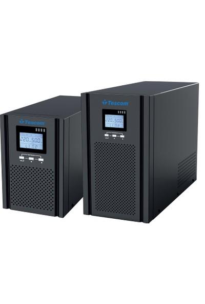 Tescom Teos+ 103 6X7AH Akülü Online Ups