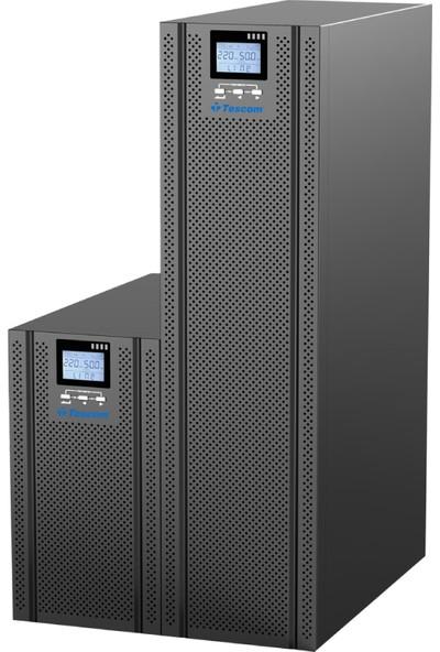 Tescom Ups Kesintisiz Güç Kaynağı Teos+ 106 6000 VA/6000 W-16 x 7AH + Mby-Pass
