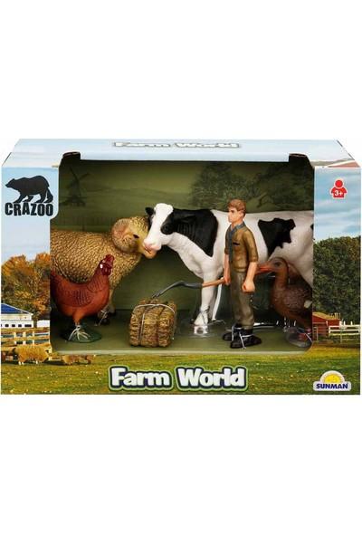 Crazoo Farm World Çiftlik Hayvanları Seti Koç