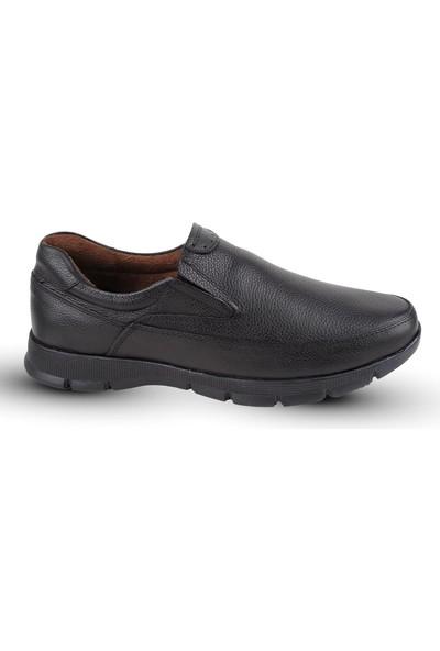 Kaptan Junior Ortapedik Topuk Masajlı Deri Kışlık Erkek Ayakkabı