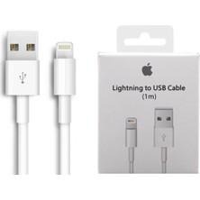 Best Shop Apple iPhone Şarj Aleti Kablosu 5 6 7 8 Plus Xs Max Uyumlu 1m Lightning USB Kablosu