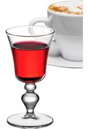 Paşabahçe Victoria Kahve Yanı&likör Bardağı Şeffaf 6'lı