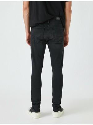 Koton Super Skinny Fit Kot Pantolon - Justin Jean