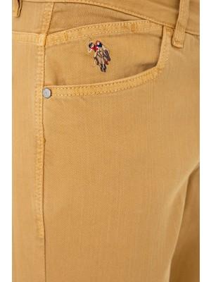 U.S. Polo Assn. Sarı Chinos 50232737-VR072