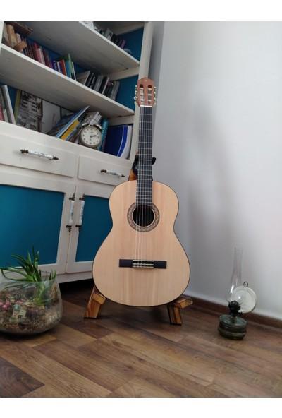Arslanlar Ahşap Gitar Standı