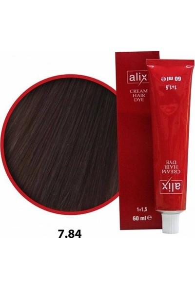 Alix Sac Boyası 60 ml 7.84.karamel.bakır