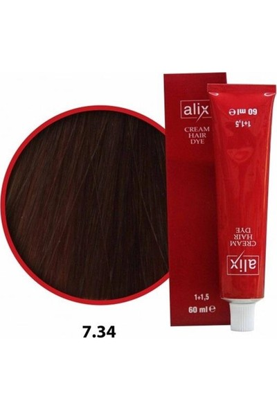 Alix Sac Boyası 60 ml 7.34.kumral.dore.bakır