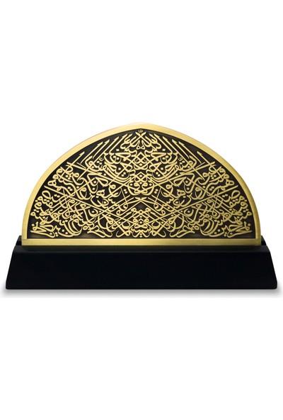 Kamet Topkapı Sarayı Bab-I Hümayun Kitabesi - Antik Altın