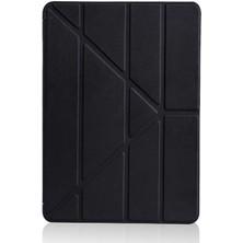 Aksesuarkolic Apple iPad 10.2 2021 (9.nesil) Kılıf Zore Tri Folding Standlı Kılıf
