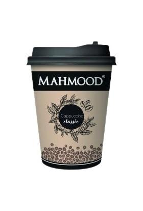 Mahmood Coffee Cappuccino Klasik Karton Bardak 25 gr x 80 Adet ( 1 Koli)