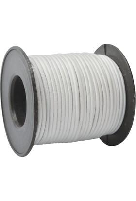 YYB Yuvarlak Beyaz Don Lastiği Çap 3 mm Boy 20 Metre