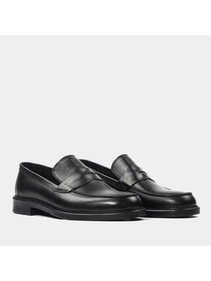 Hotiç 02AYH171780A100 Siyah Erkek Ayakkabı