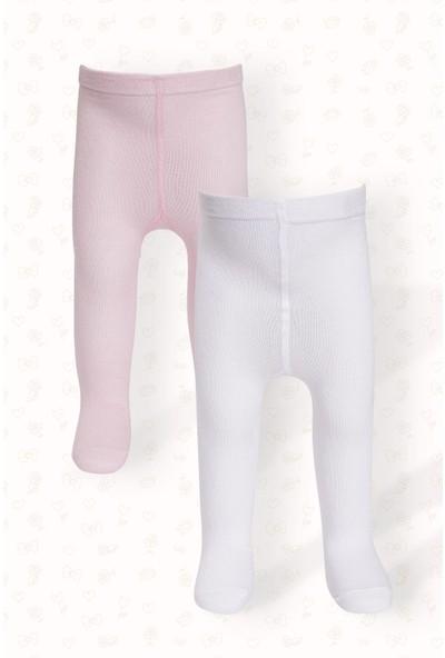 Zepkids Kız Çocuk 2'li Paket Külotlu Çorap