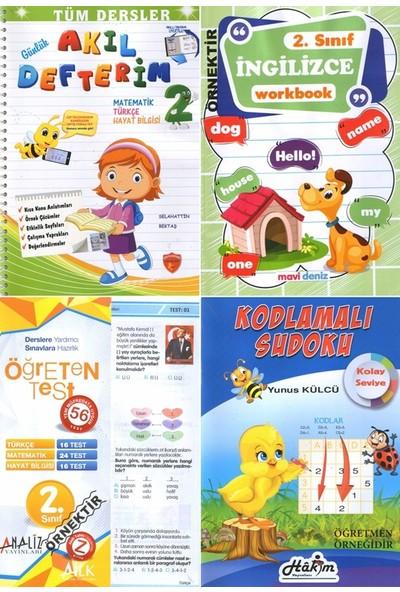 Kitap Arası 2.sınıf Tüm Dersler Günlük Tek Bilge Akıllı Çalışma Okul Defterim