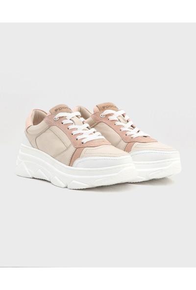 Alhama Kadın Sneaker Pudra