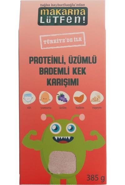 Makarna Lütfen Proteinli Üzümlü & Bademli Kek Karışımı
