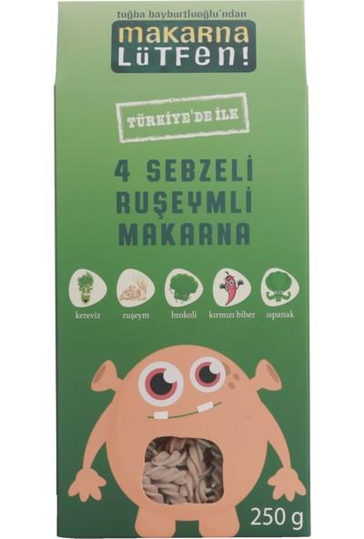 Makarna Lütfen 4 Sebzeli & Ruşeymli Makarna
