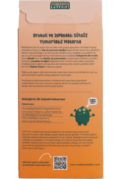 Makarna Lütfen Brokoli & Ispanaklı Sütsüz Yumurtasız Makarna