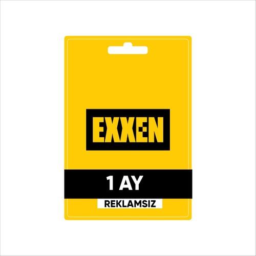 Exxen 1 Ay Reklamsız